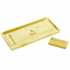 Xhaal Bamboo Rolling Tray and Scraper